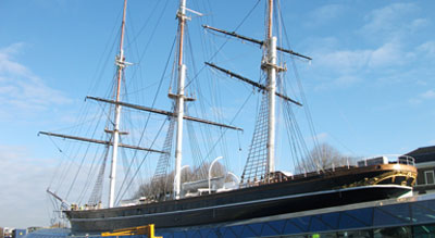 Project Pivoting - The Cutty Sark