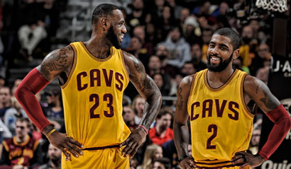 LeBron James and Kyrie Irving - team relationships